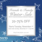 20% to 75% Off Phyto Products