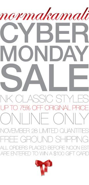 Norma Kamali Cyber Monday Sale