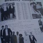 Sexiest Man Alive Bradley Cooper's Yearbook Page
