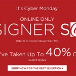 Cyber Monday Sale At Saks