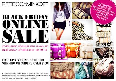 Rebecca Minkoff Black Friday Sale