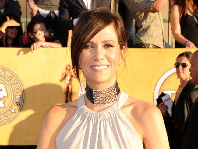 SAG Awards 2012 Hairstyle: Kristen Wiig