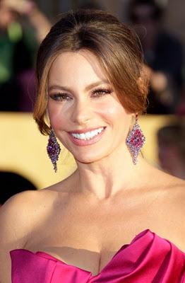 SAG Awards 2012 Makeup: Sofia Vergara