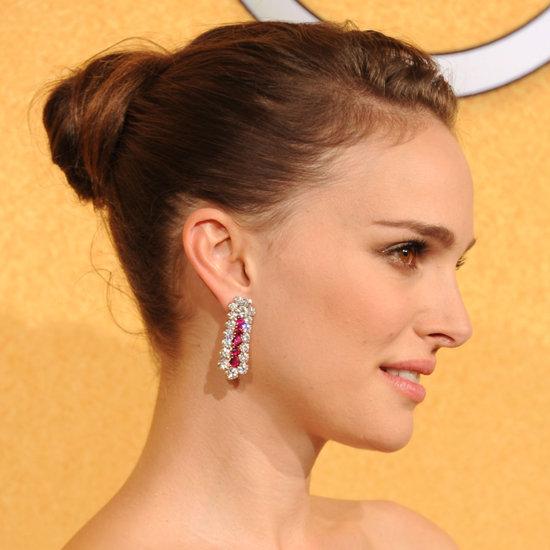 SAG Awards 2012 Makeup: Natalie Portman