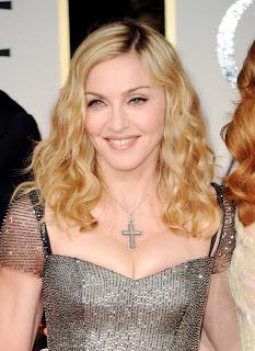 Golden Globes 2012 Hairstyle: Madonna