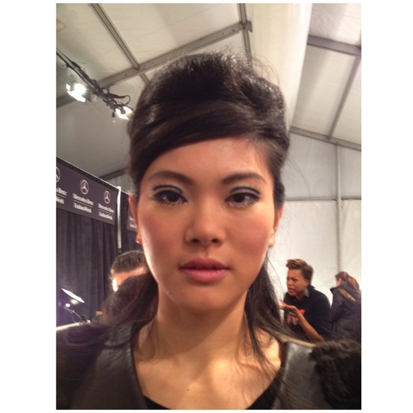 Fall 2012 Fashion Week Trends: Undone 'Dos, Red Lips, Sixties Sockets