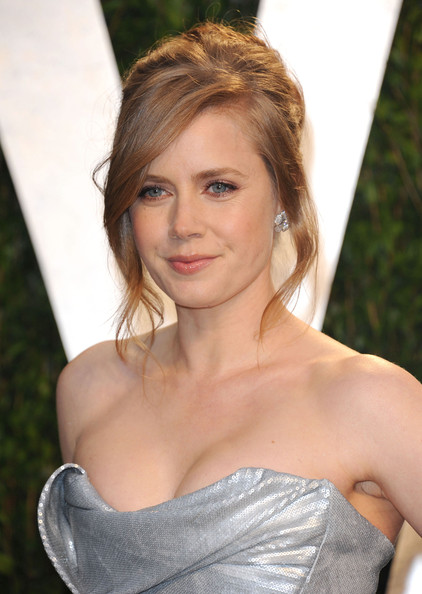 Get The Look: Amy Adams At The Vanity Fair Academy Awards Party 2012