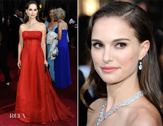 2012 Oscars Beauty: Natalie Portman's Makeup