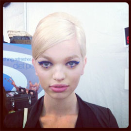 Fashion Week Fall 2012 Beauty Trends: Start Stockpiling Blush Now