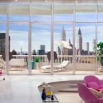 """Barbara Novak's Penthouse Apartment in """"Down With Love"""""""