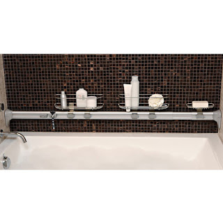 In My Shower: SimpleHuman Adjustable Horizontal Tension Caddy