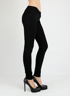 James Jeans Couture Skinny 1210 Matte Black Jeans Review