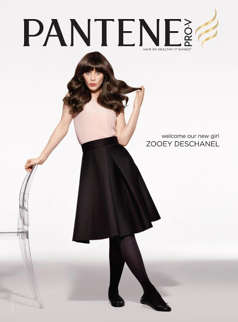 Fictionary: Bangst + Zooey Deschanel For Pantene