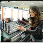 Shenae Grimes Shops The ELLE Cosmetics Counter