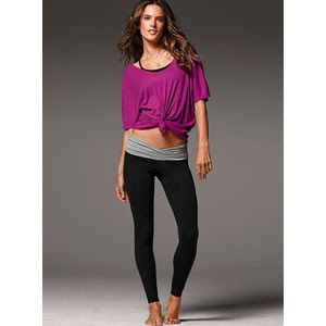 More Lululemonaid: Victoria's Secret Yoga V-Front Legging