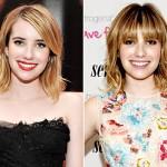 Emma Roberts' New Bangs