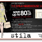 Stila Warehouse Sale In Los Angeles