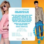Topshop Thompson LES Hotel Pool Party & Pop-up Shop