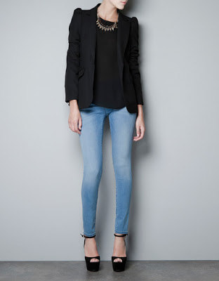 BOUGHT: Zara Blazer With Shoulder Detailing