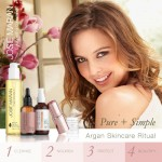 Giveaway: Win 1 of 2 Josie Maran Pure & Simple Argan Skincare Ritual Kits