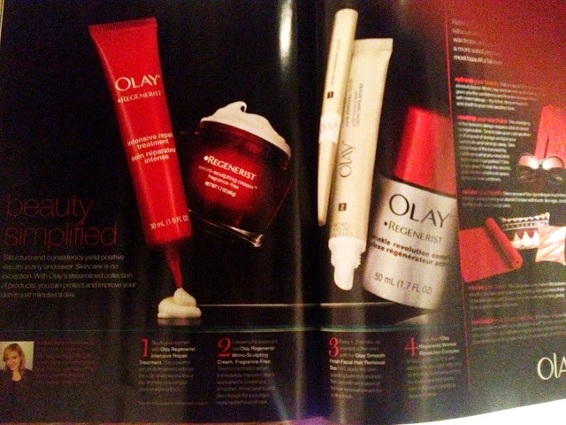 Olay Beauty Buzz in VOGUE'S SEPTEMBER ISSUE