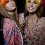 Bangs Of A Different Color At Libertine's Spring 2013 Show