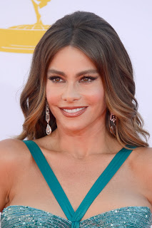Sofia Vergara's Makeup: 2012 Emmys