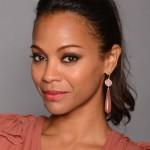 Zoe Saldana's Makeup Look At The 2012 ALMA Awards