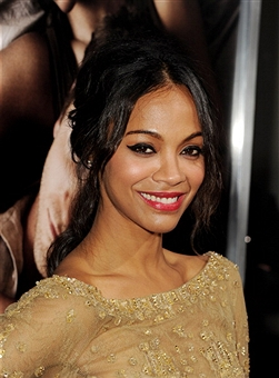 Get The Look: Zoe Saldana's Hairstyle At 'The Words' Premiere