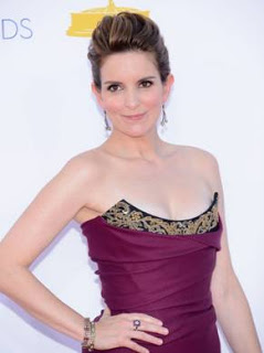Tina Fey's Hairstyle: Emmys 2012