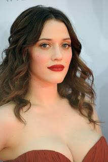 Kat Dennings' Makeup: Emmys 2012