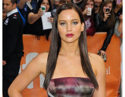 Jennifer Lawrence Dyes Her Hair Dark