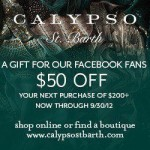 $50 Off Purchases of $200+ At Calypso St. Barth