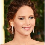 Jennifer Lawrence: Golden Globes Hairstyle