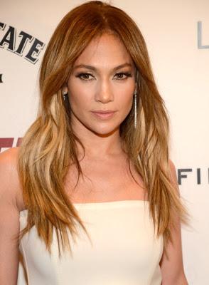 Jennifer Lopez' Hairstyle & Makeup At 'Parker' Premiere