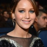 Jennifer Lawrence's Makeup At The People's Choice Awards 2013