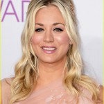 Kaley Cuoco's Makeup At The People's Choice Awards 2013