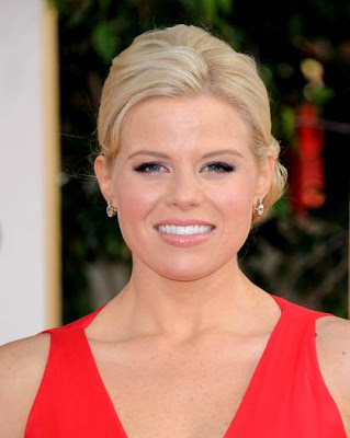 Megan Hilty: Makeup Golden Globes 2013