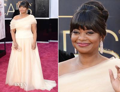 2013 Oscars Hairstyle: Octavia Spencer