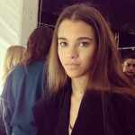 Herve Leger AW 2013 Show: Backstage Beauty