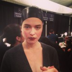 Backstage Beauty: Pamella Roland Fall 2013 Hairstyle & Makeup