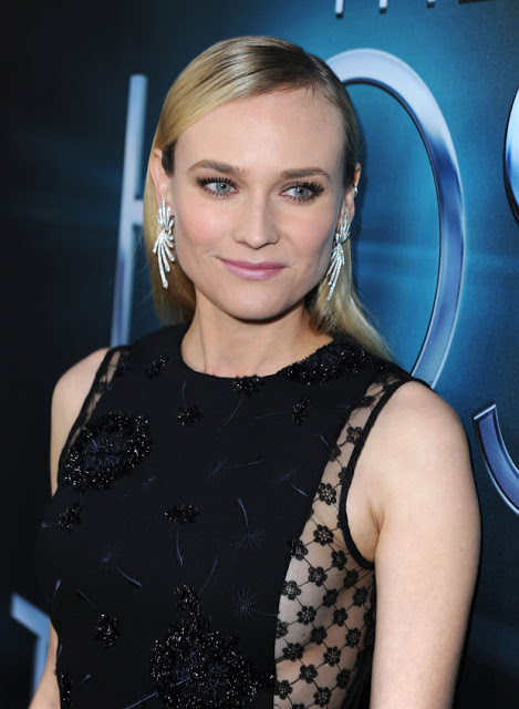 Hairstyle: Diane Kruger At 'The Host' Premiere