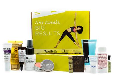 Birchbox x Women's Health: Tiny Tweaks, Big Results Box