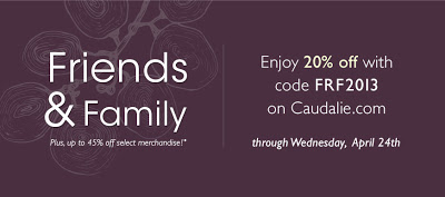 Caudalie Friends & Family Sale