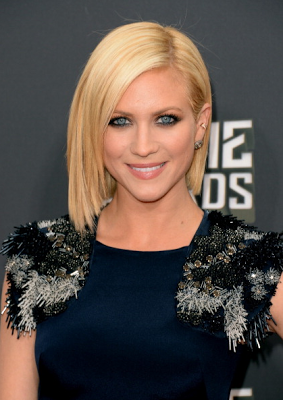 Makeup: Brittany Snow At The MTV Movie Awards 2013