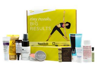 Birchbox Women's Health Tiny Tweaks, Big Results Unboxing Video