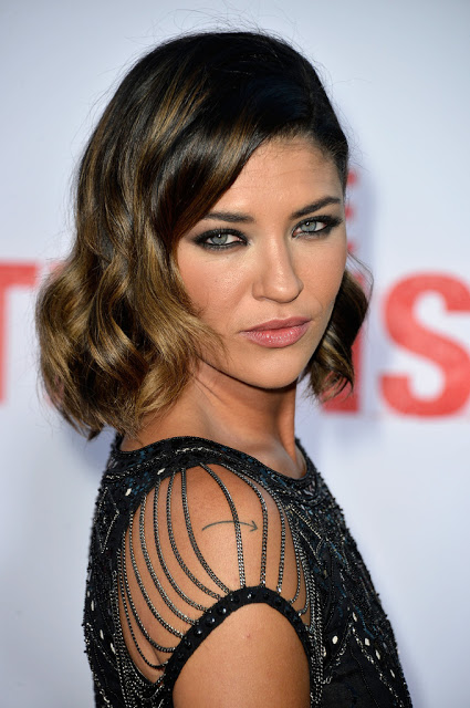 Makeup: Jessica Szohr At 'The Internship' Premiere