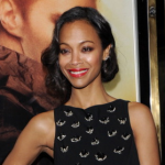 Makeup: Zoe Saldana At 'Star Trek Into Darkness' London Premiere