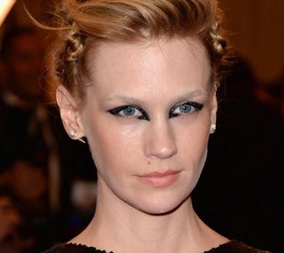 Met Ball 2013 Makeup & Nails: January Jones