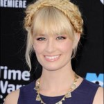 Makeup: Beth Behrs At The Monsters University Premiere